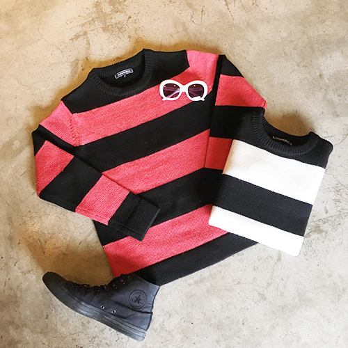 CAPTAINS HELM Delivery – #BORDER SWEATER