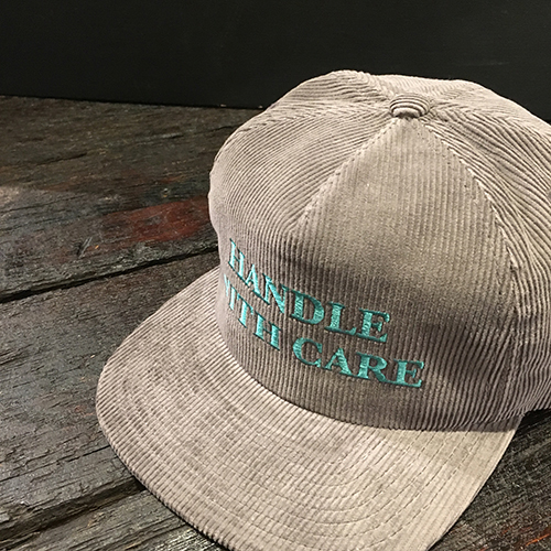 CAPTAINS HELM Delivery – #HANDLE WITH CARE CORDUROY CAP