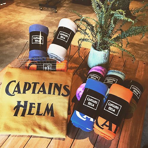 CAPTAINS HELM #FLEECE BLANKET