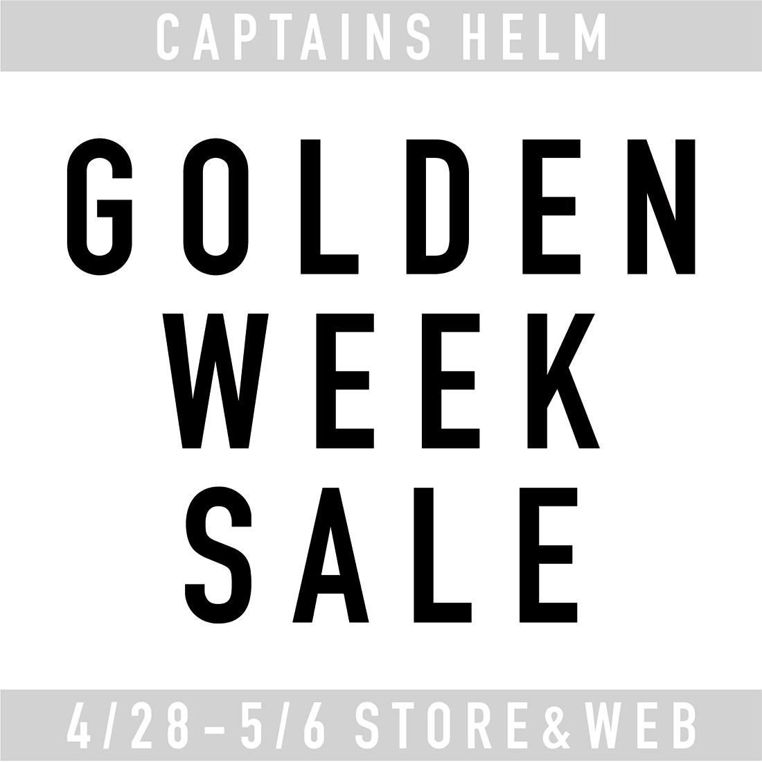 GOLDEN WEEK SALE